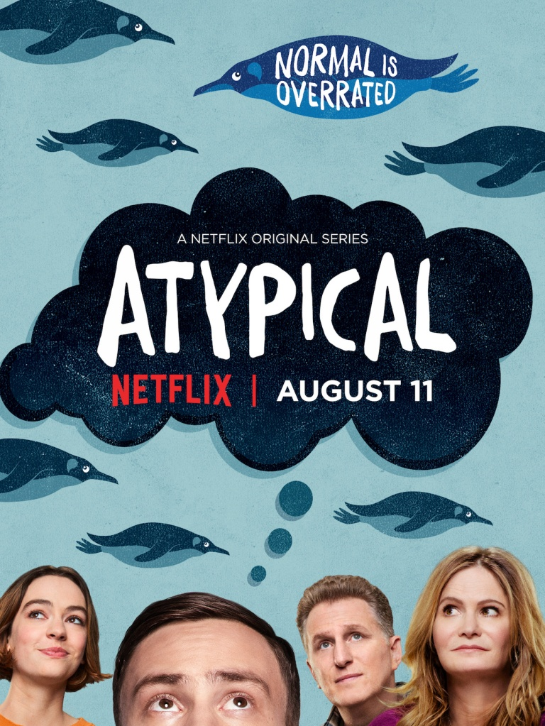 Atypical Key Art Poster Netflix Season 1