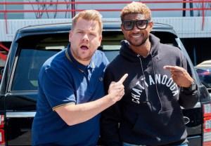 Usher Carpool Karaoke James Corden
