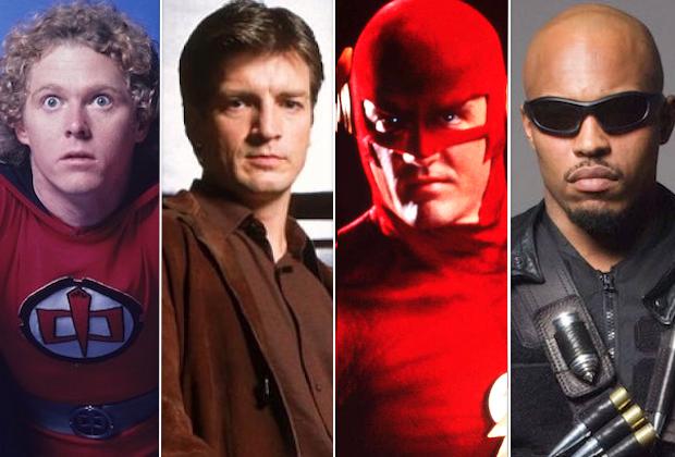 Comic Book TV Shows Cancelled Sci Fi Fantasy