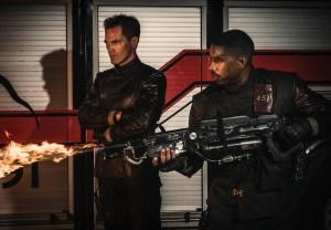 Fahrenheit 451 HBO Movie Michael B. Jordan Michael Shannon