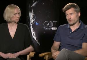 Game of Thrones Season 7 Preview Video Gwendoline Christie Nikolaj Coster Waldau