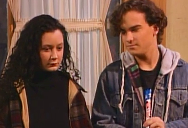Johnny Galecki Roseanne