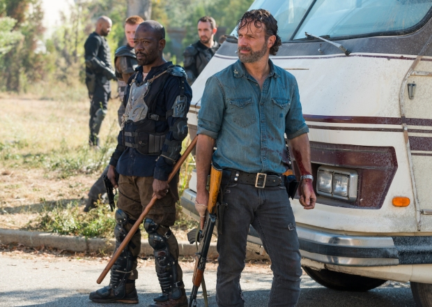 The Walking Dead Season 8 Stuntman Injured