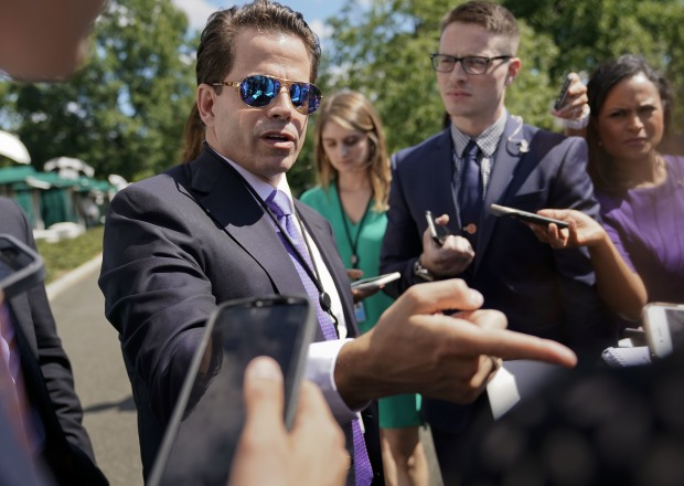 Anthony Scaramucci Late Show