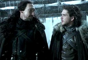 Game of Thrones Benjen Stark Season 1 Jon Snow