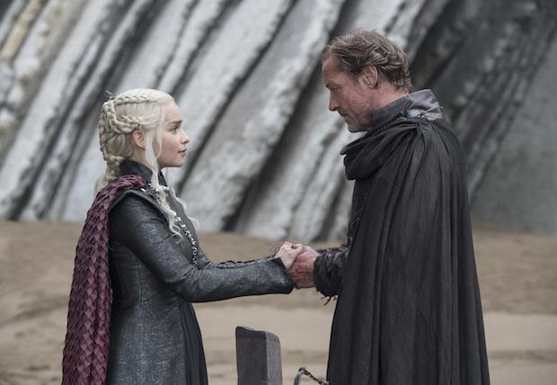 Game of Thrones Daenerys Jorah Moments Photos