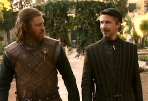 Game of Thrones Season 1 Ned Stark Littlefinger