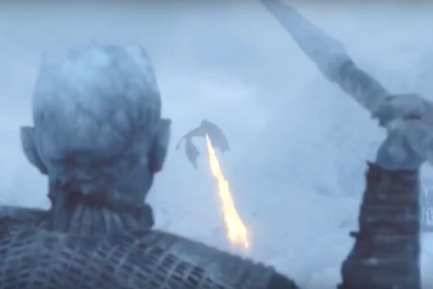 Game Of Thrones White Walker Dragon Viserion Dies In Season 7 Episode 6 Tvline