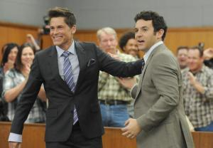 Rob Lowe The Grinder Fred Savage Memory