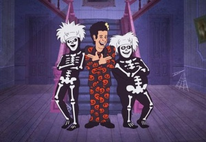 David S. Pumpkins Halloween Special