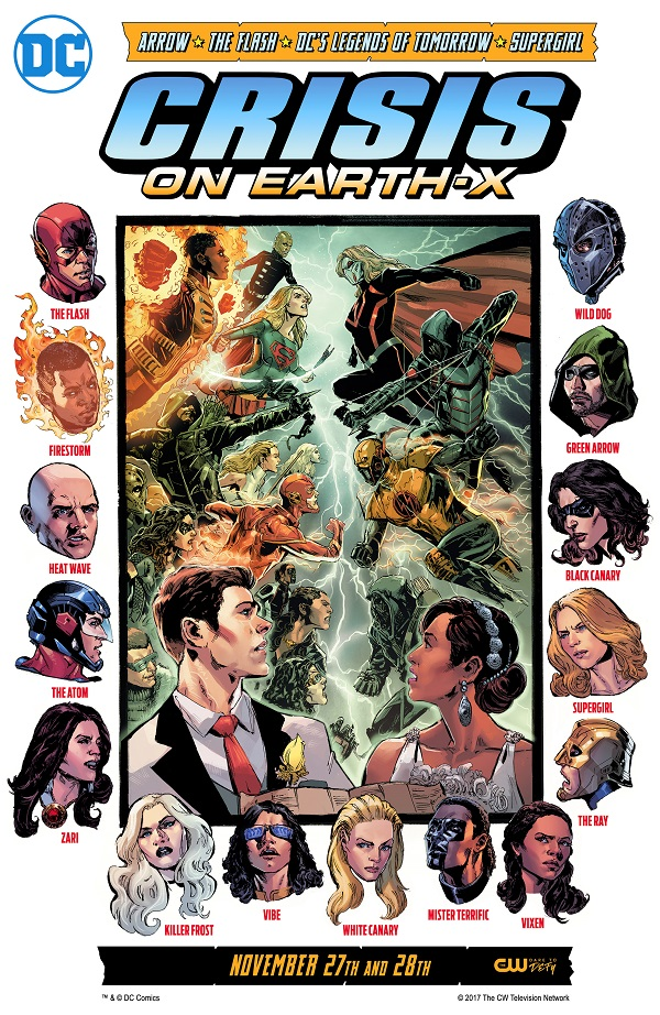 DCTV Crossover Crisis on Earth-X