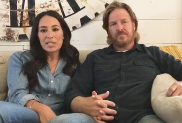 Video Fixer Upper Cancelled Watch Chip Joanna Gaines Message Tvline