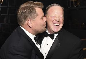 James Corden Sean Spicer
