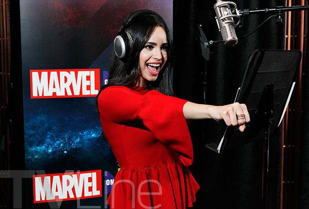 Sofia Carson Spider-Man
