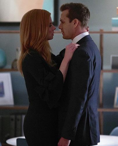 Suits Donna/Harvey Kiss