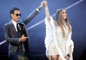 Jennifer Lopez Marc Anthony Telethon