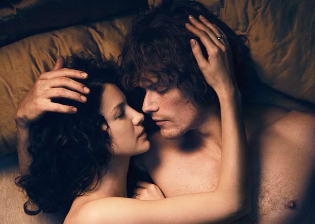 Outlander Jamie Claire Reunion Print Shop Sex Season 3 video