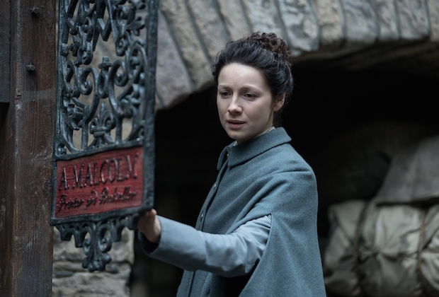 Outlander Season 3 Aging Claire Jamie Caitriona Balfe Interview