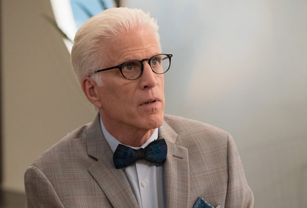The Good Place Season 2 Existential Crisis Michael Ted Danson
