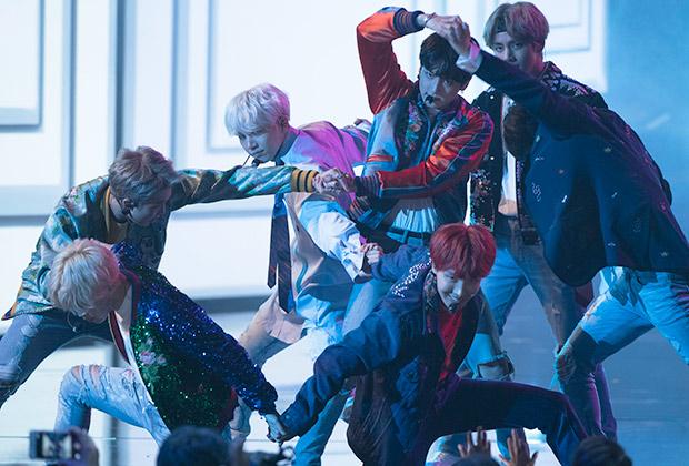 BTS AMAs 2017