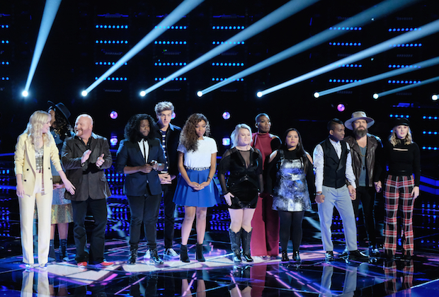 the voice recap top 12 results