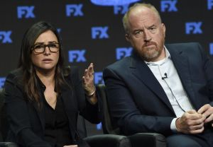 Pamela Adlon Louis C.K. Reaction