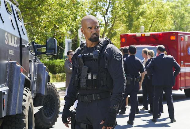 SWAT CBS Full Season Order Shemar Moore