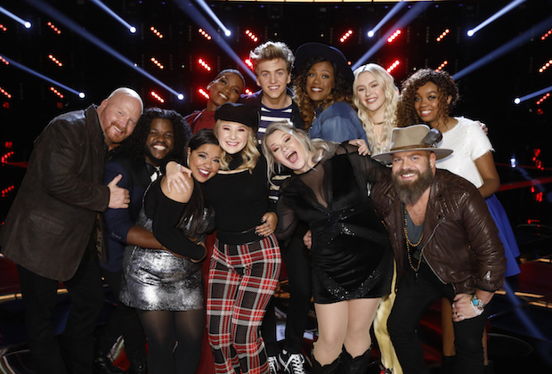 the voice recap top 11 results show