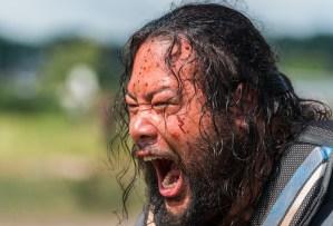 the walking dead season 8 episode 4 recap shiva tiger dies killed