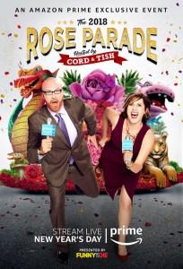 Will Ferrell Molly Shannon Amazon Rose Parade Key Art