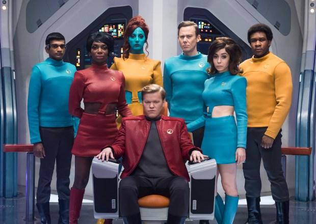 Black Mirror Season 4 Netflix USS Callister