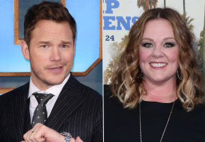Jimmy Kimmel Live Guest Hosts Chris Pratt Melissa McCarthy