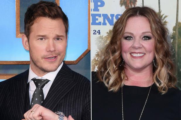 Jimmy Kimmel Live Guest Hosts Chris Pratt Melissa McCarthy