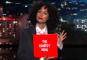 Tracee Ellis Ross The Handsy Man Video Jimmy Kimmel Live