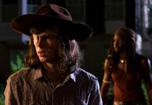Walking Dead Carl Dies