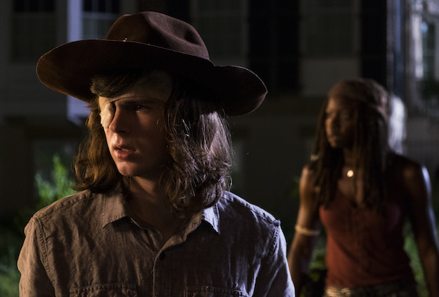 Walking Dead Carl Dies