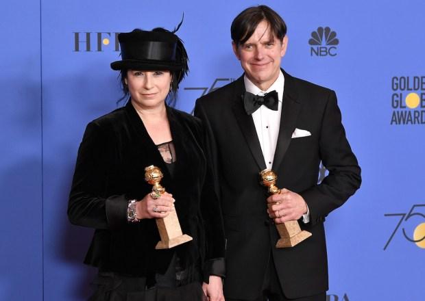 Golden Globes The Marvelous Mrs. Maisel Amy Sherman Palladino Daniel Palladino