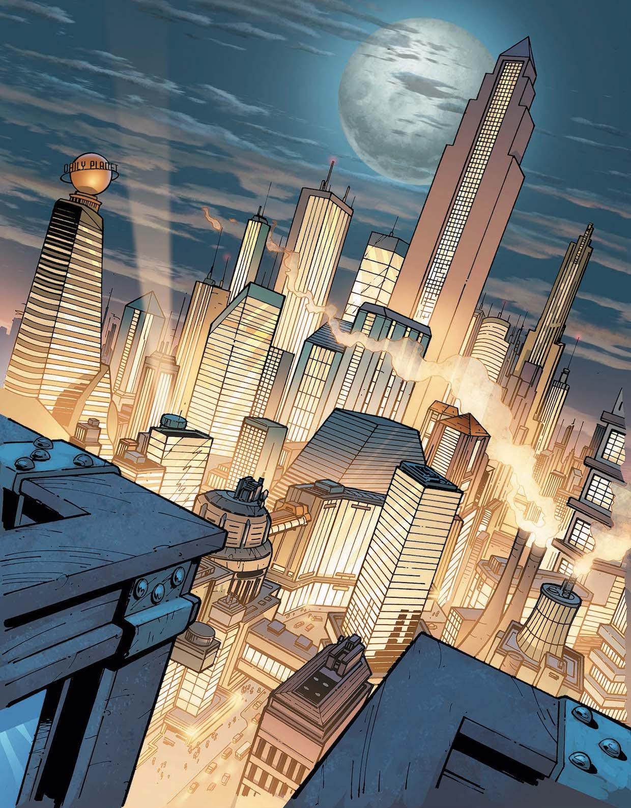 Metropolis DC Series Full Length Poster