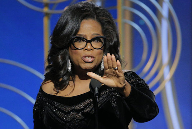 Oprah Golden Globe Awards