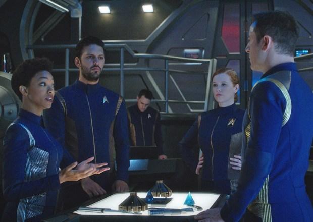 Star Trek Discovery Episode 10 Burnham Tyler Tilly Lorca
