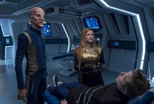 Star Trek Discovery Episode 11 Saru Tilly Stamets