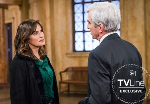 Law Order SVU Sam Waterston Photos Season 19 Mariska Hargitay