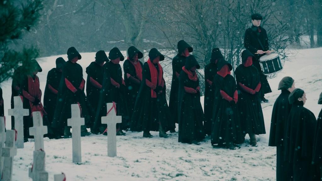 The Handmaid's Tale Season 2 Hulu Funeral
