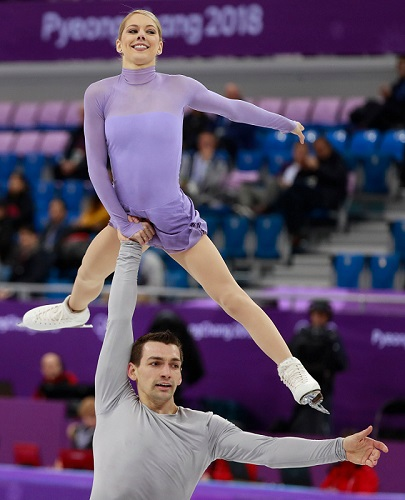 Alexa Scimeca-Knierim Chris Knierim Olympics