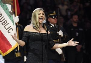 Fergie Apology National Anthem NBA All Star Game 2018