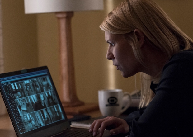 Homeland Season 7 Episode 2 Carrie Laptop