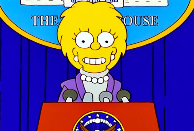 Ted Cruz Lisa Simpson