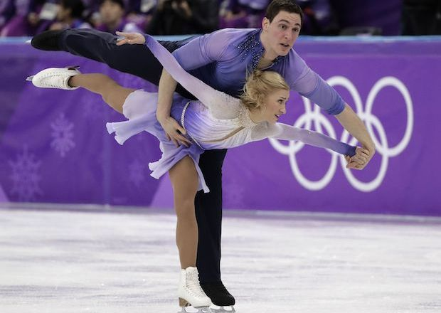 Winter Olympics 2018 Pairs Figure Skate Medals Results