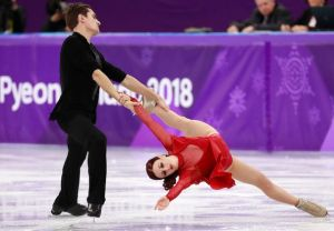 Olympics Ice Dancing Medals 2018