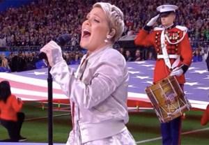 Pink National Anthem Super Bowl